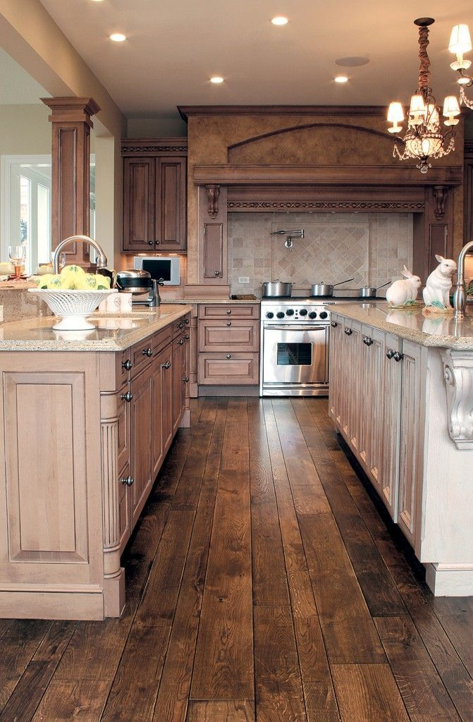 wood kitchen flooring 30 stunning kitchen designs KOSTMJS