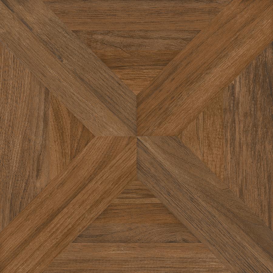 wood tile flooring nitrotile villanova brown wood look ceramic floor tile (common: 17-in x 17 VFJKDTR