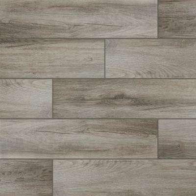 wood tile flooring shadow wood 6 in. x 24 in. porcelain floor and wall tile (14.55 ESRGXGF