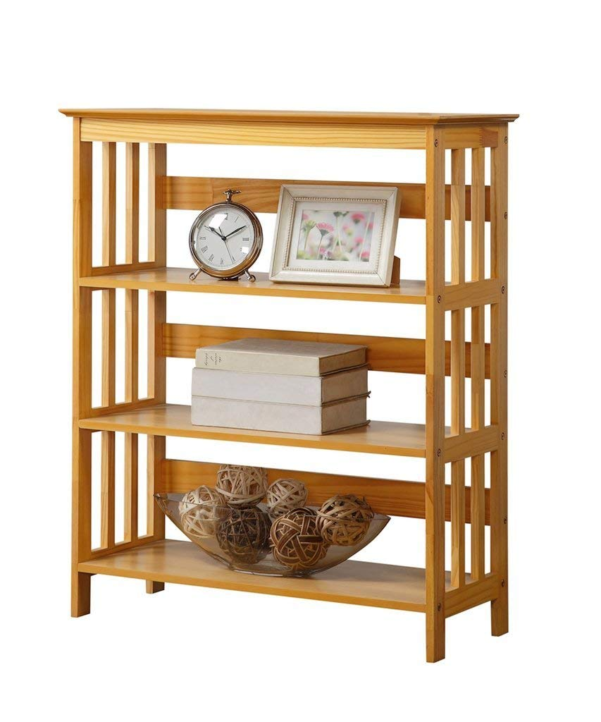 Wooden Bookcases amazon.com: legacy decor 3 tier wooden bookshelf / bookcase oak finish:  kitchen LRXLRIA