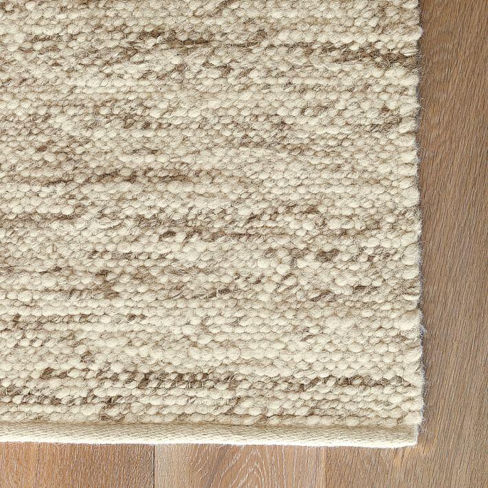 wool rugs sweater wool rug - oatmeal | west elm YEAGVAL