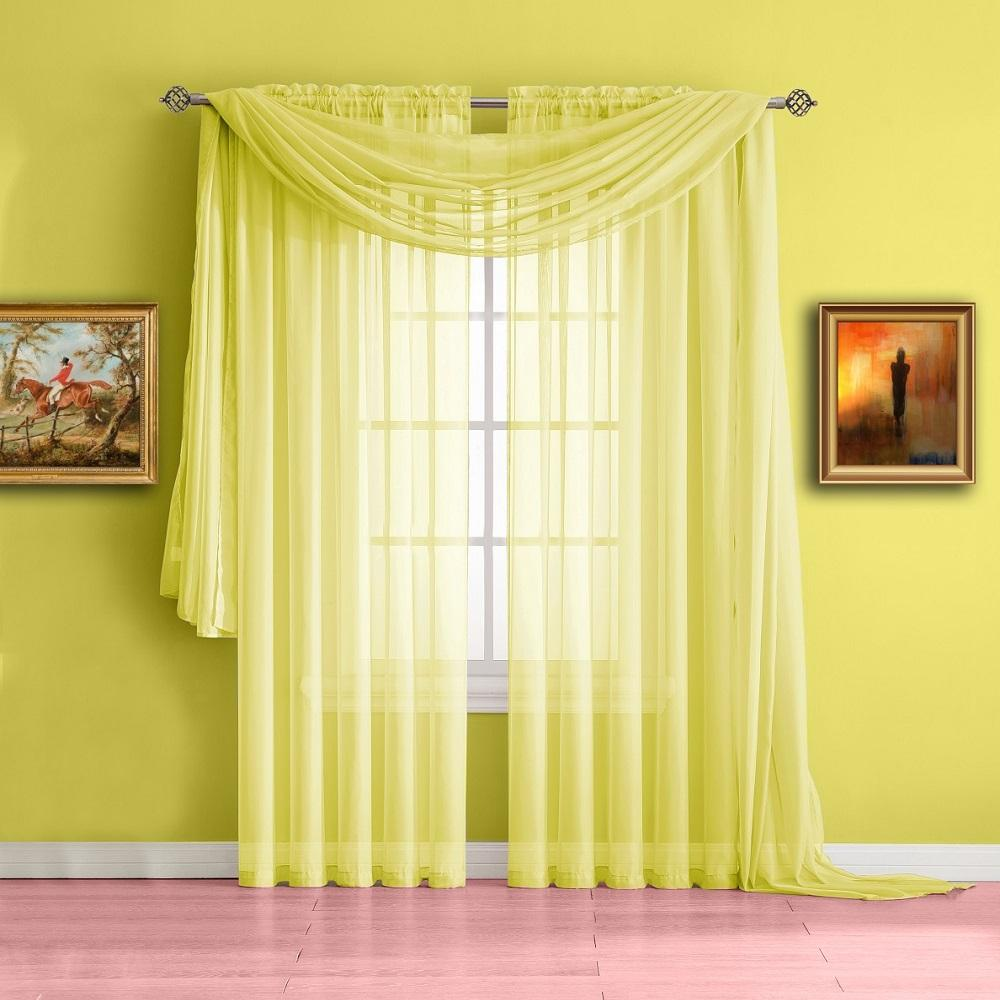 Yellow Curtains warm home designs yellow window scarf valances, sheer yellow curtains ... SKEEBUM