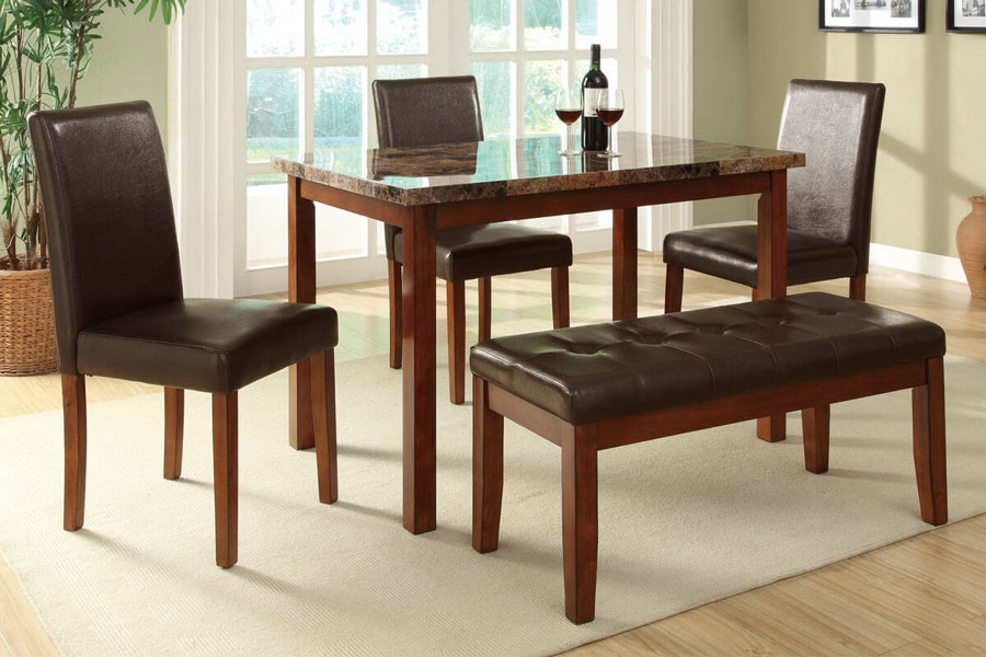 ... glass top rectangular dining tables for small spaces ... TVGSKBC