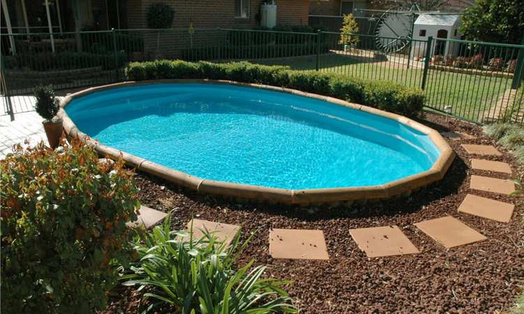 above ground pool landscaping ideas on a budget above ground pool ideas ODIUWMA