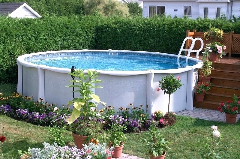 above ground pool landscaping ideas on a budget above ground pool landscape ideas cheap pool landscaping ideas before pool  landscaping ZOSGUVL