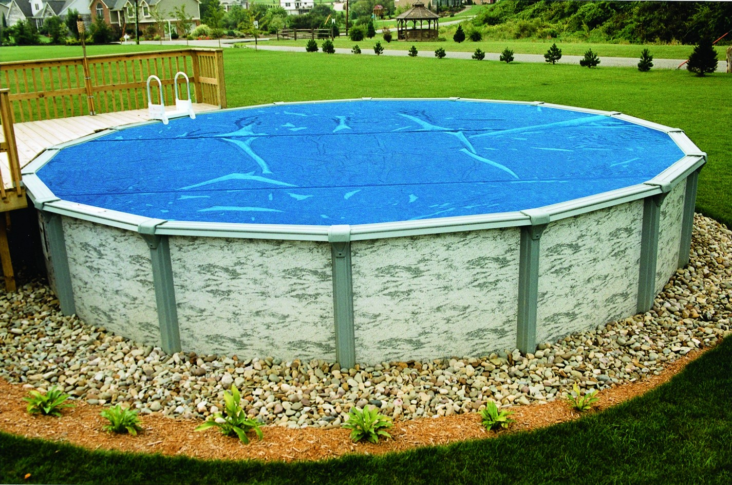 above ground pool landscaping ideas on a budget above ground pool landscaping ideas - lauren hu0026g ideas MWNXAUL