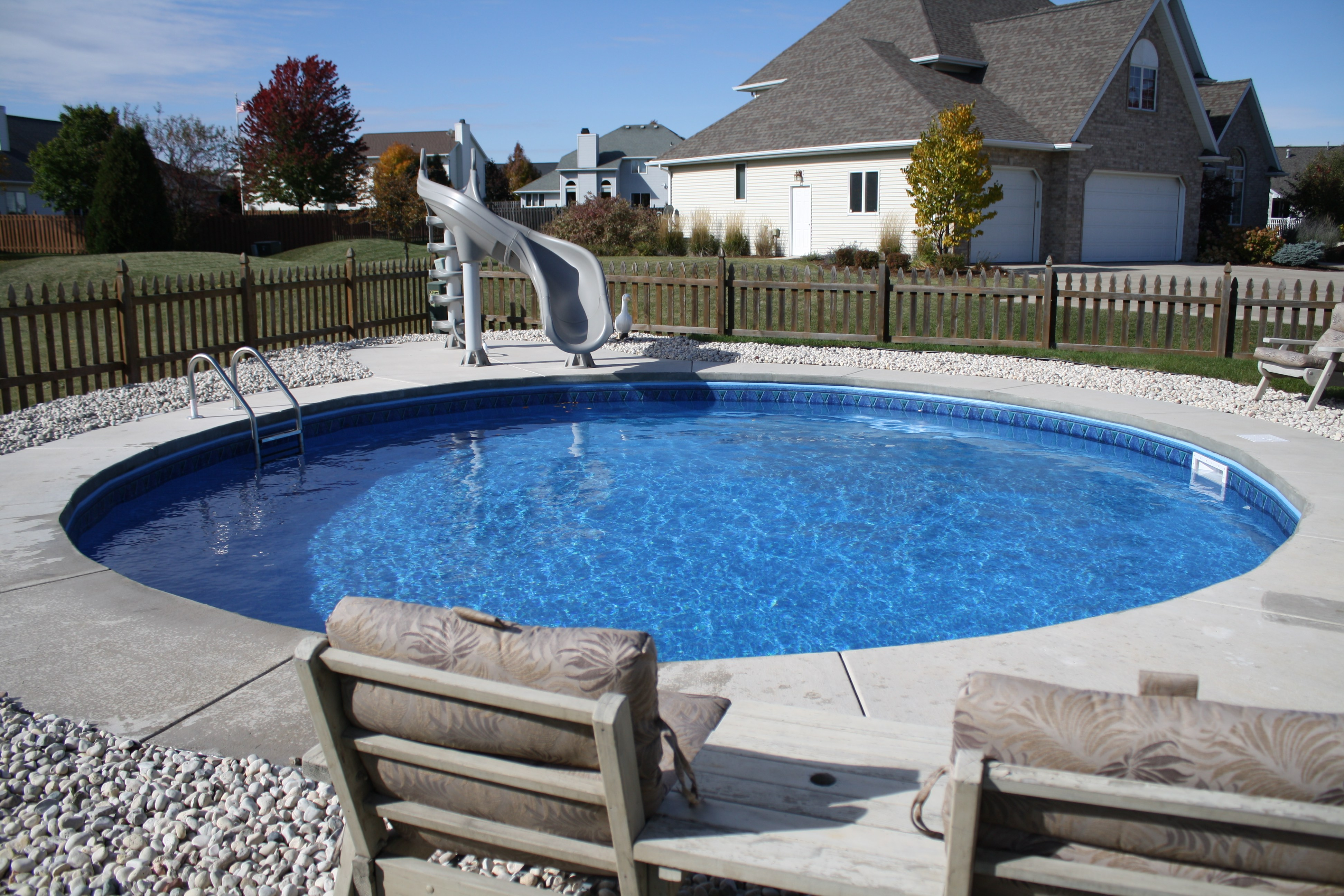 above ground pools that look like in ground above ground swimming pool 19 PRWOQGF