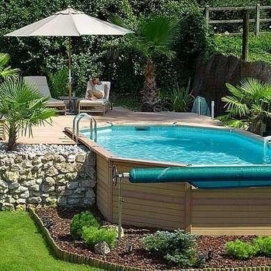 above ground pools that look like in ground awesome above ground pools KFEMGAJ