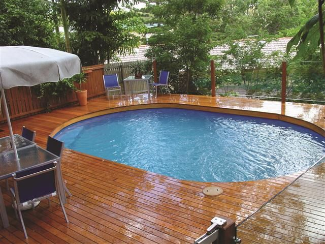 above ground pools that look like in ground landscaping pool KZGXCVV