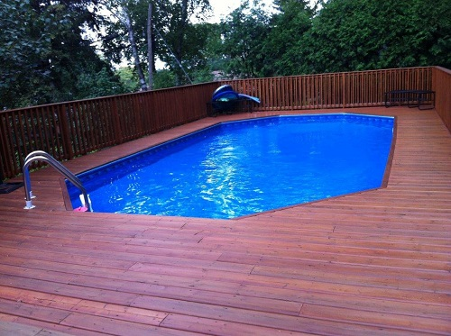 above ground pools that look like in ground must have items for above ground pools NFZUHFW