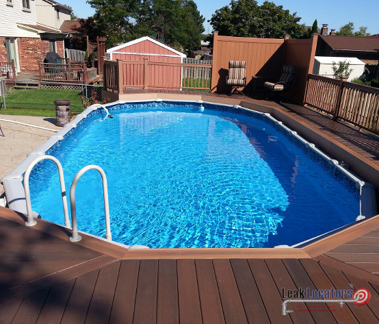 above ground pools that look like in ground pool leak detection RRPOYOI