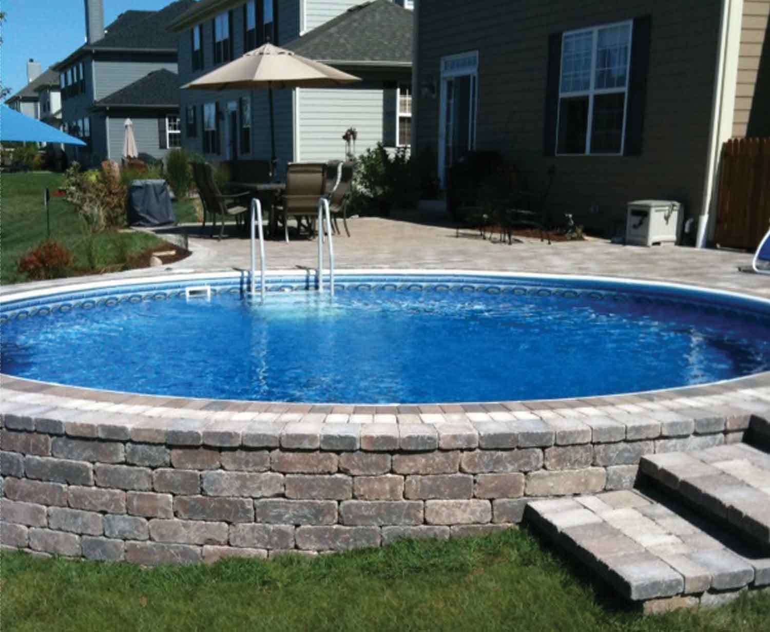 above ground pools that look like in ground undefined JWYAHUD
