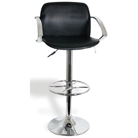 adjustable bar stools with backs and arms buffalo adjustable height bar stools with arm rests and HWHUZUT