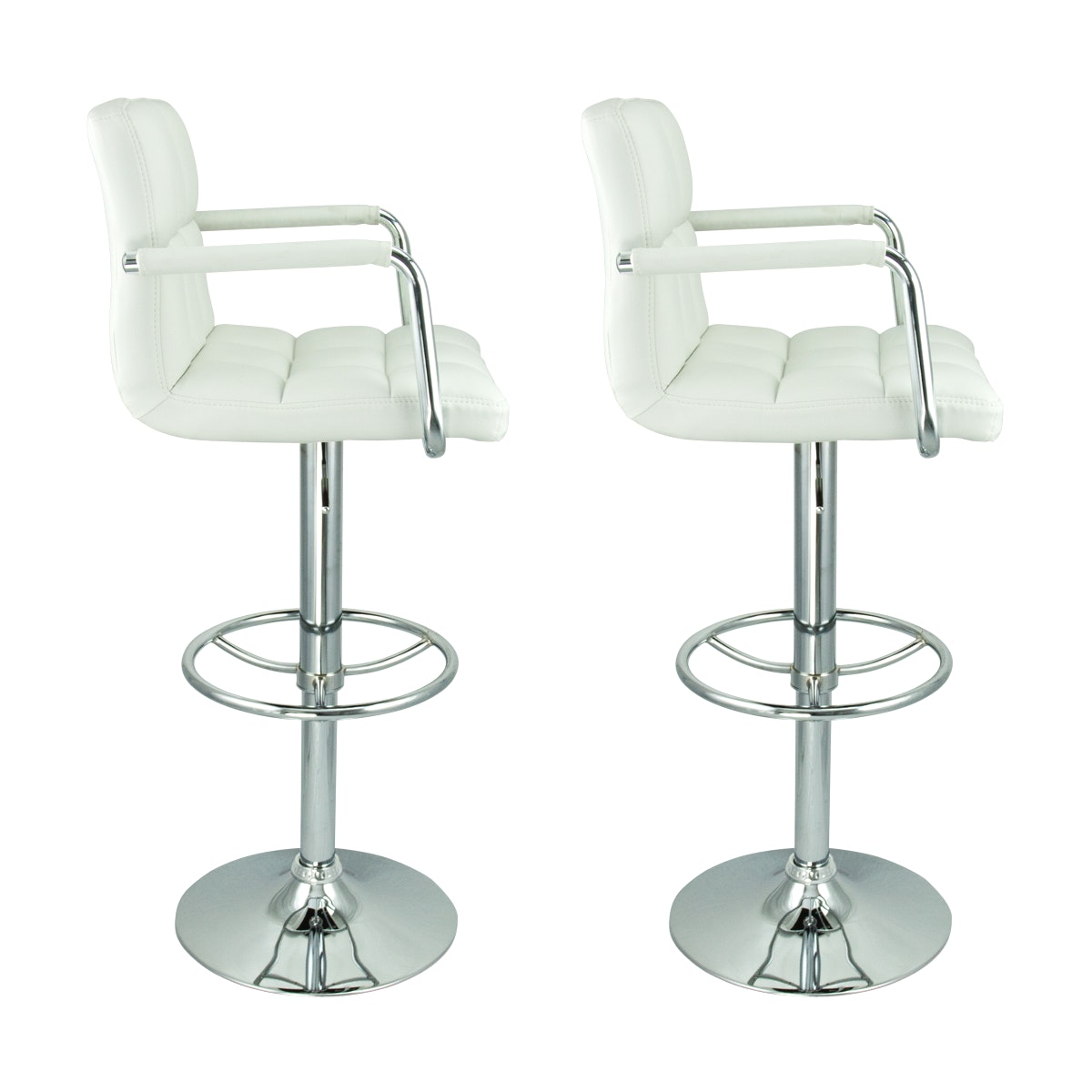 adjustable bar stools with backs and arms ... swivel white w arm pu leather modern adjustable hydraulic bar best with JJAQOEZ