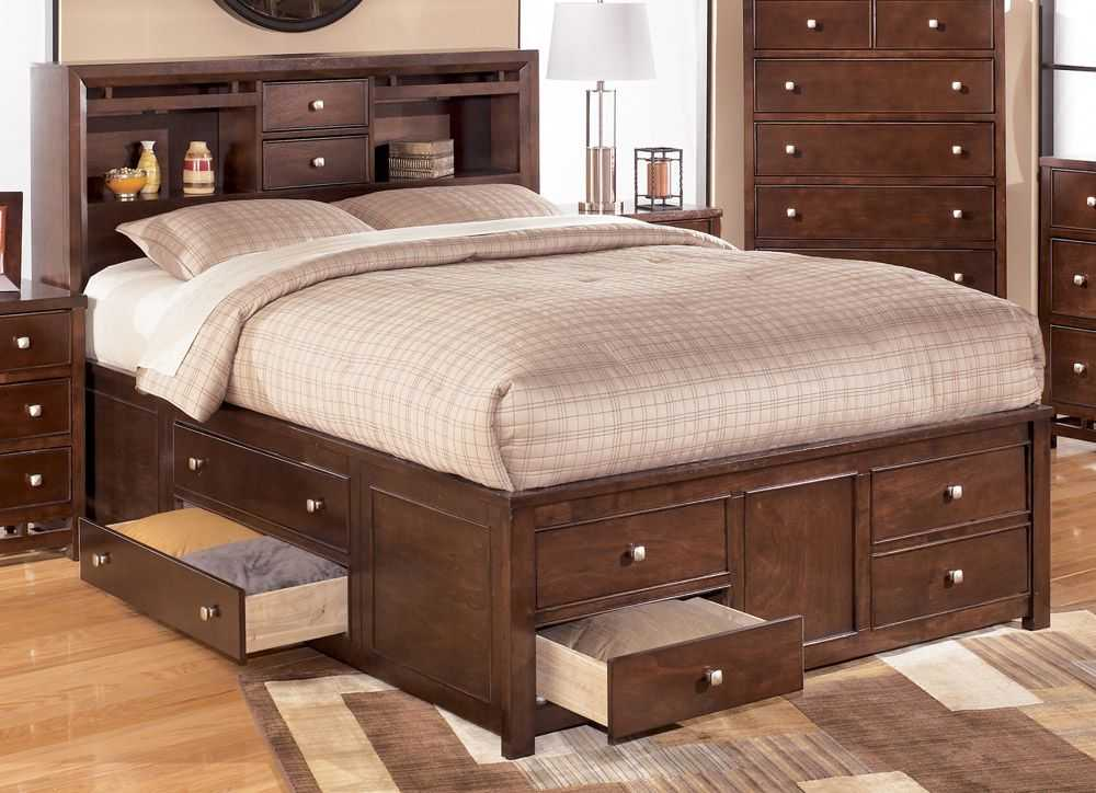 amazing king size bed with storage drawers underneath of with UGCUCDZ