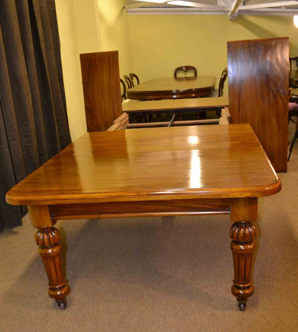 antique dining room table with pull out leaves dining room:antique dining table turned legs with pull out leaves oak 5 NKGWQEJ