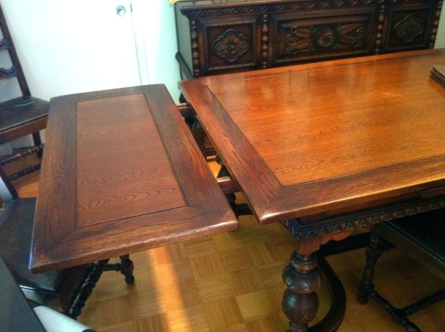antique dining room table with pull out leaves dining table with pull out leaves antique room QVHSYID