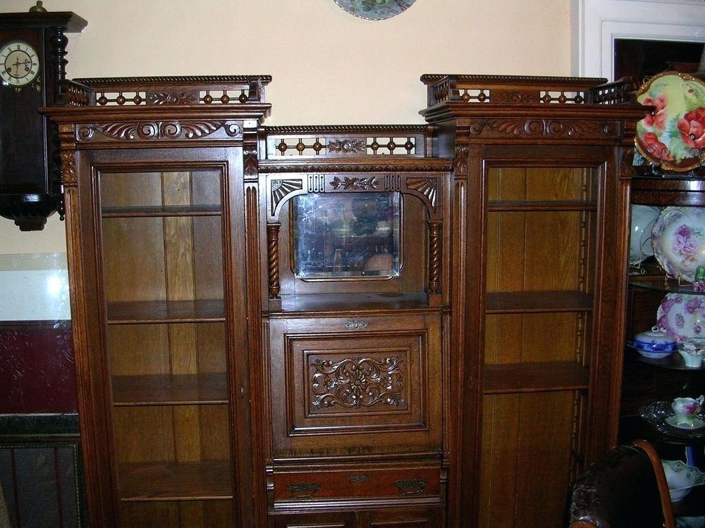 antique drop front secretary desk with bookcase antique secretary desk with bookcase fabulous antique double secretary desk  side by VNFBAWI