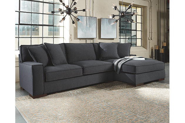 awesome charcoal gray sectional sofa with chaise lounge view FHGSFMN