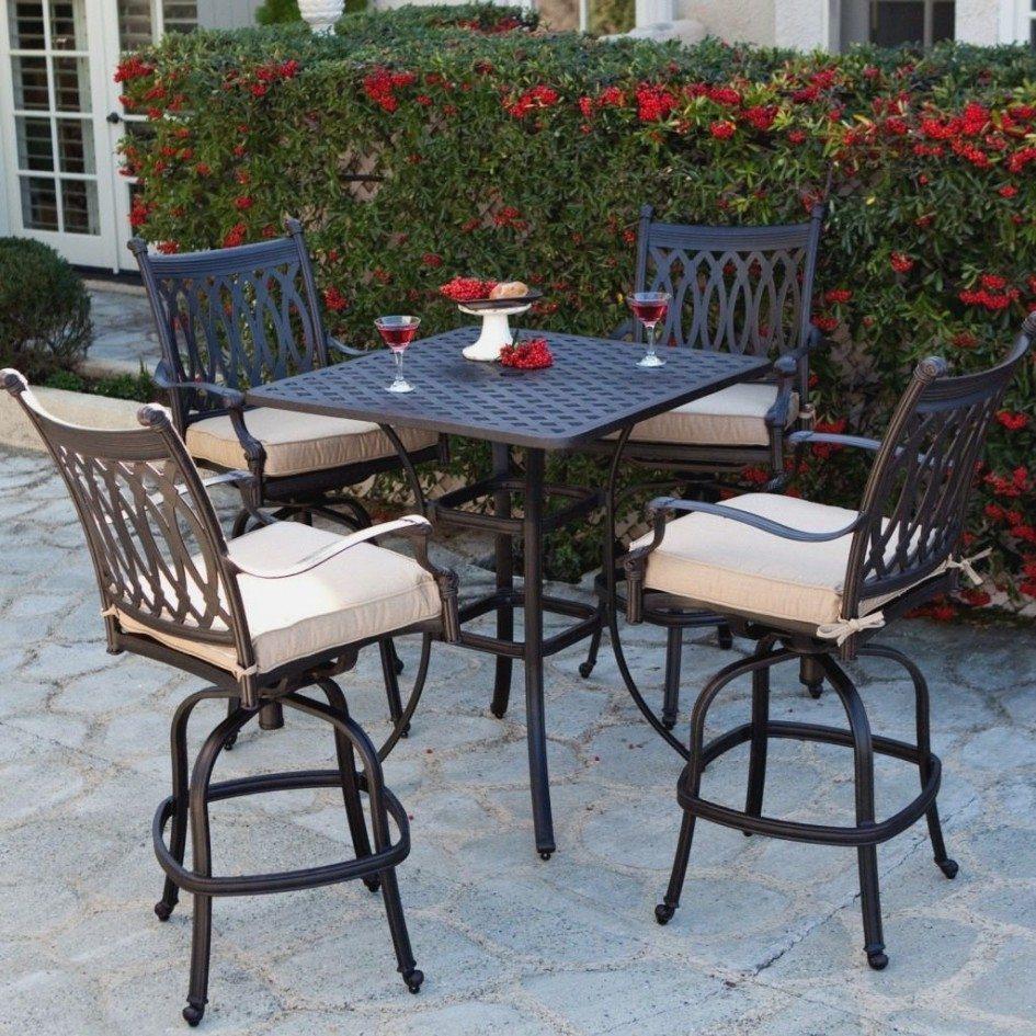bar height patio set with swivel chairs charming 5 piece bar height patio set and bar height patio ZJXFZIO
