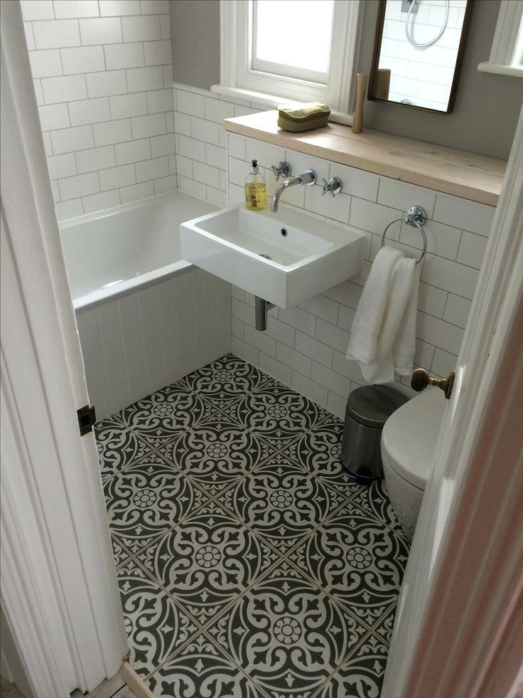 Creative Bathroom Floor Tile Ideas for Small Bathrooms