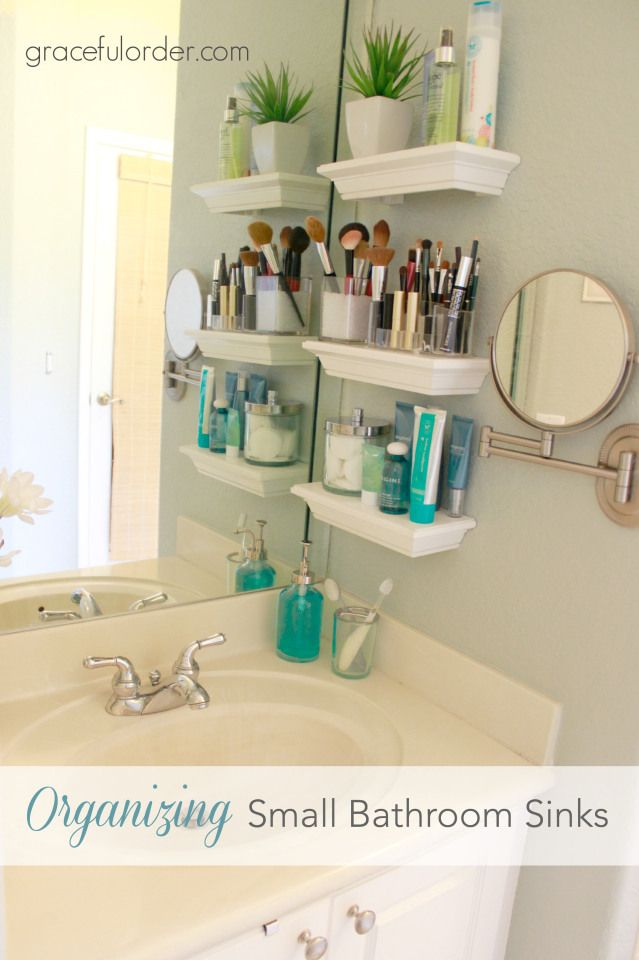 bathroom organization ideas for small bathrooms 35 bathroom organization hacks | home - master bath | pinterest XUCYXLS