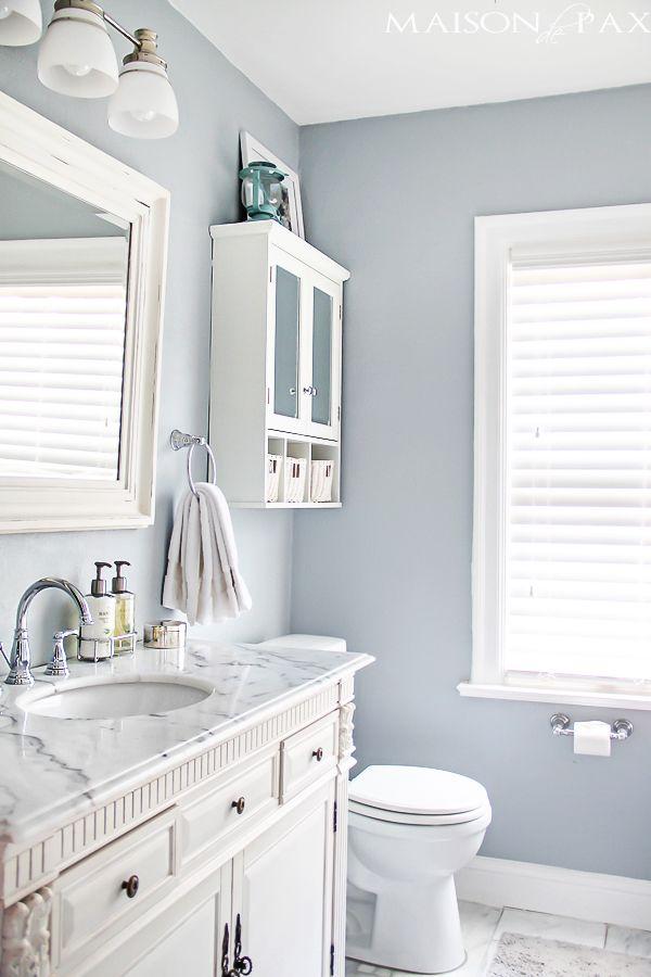 bathroom paint colors for small bathrooms 25 decor ideas that make small bathrooms feel bigger | bathrooms XETEMWC