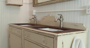 bathroom vanities that look like furniture antique dining buffet used as bathroom vanity ZYJMZUI