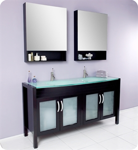 bathroom vanities with matching medicine cabinets picture of fresca infinito espresso modern double sink bathroom vanity w/ JGWPENZ