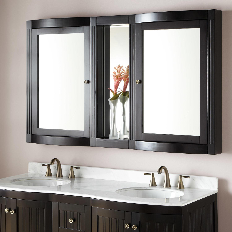 bathroom vanity mirror medicine cabinet 60 LIVORLG