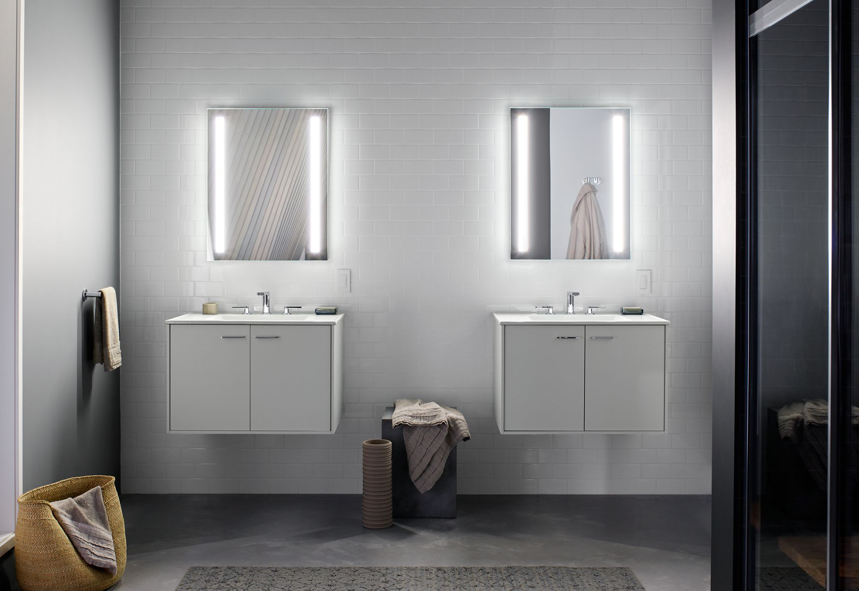 bathroom vanity mirror medicine cabinet better light. better you.™. verdera® lighted mirrors u0026 medicine cabinets FMOUCNO