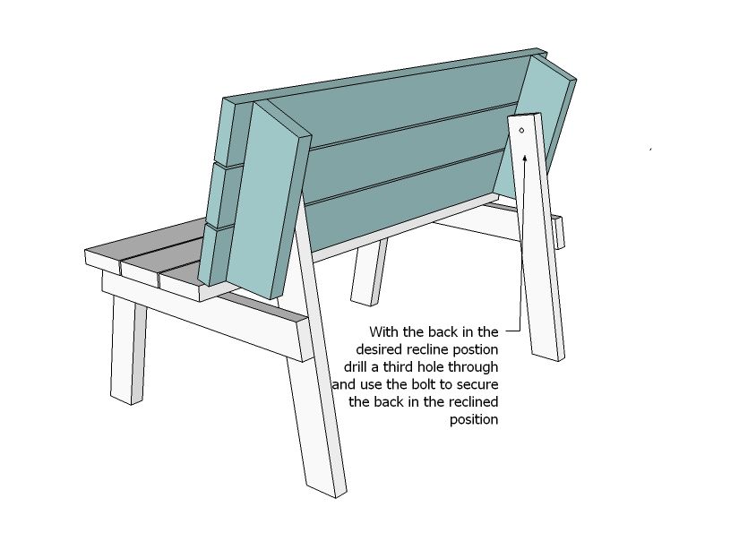 bench that turns into a picnic table plans ana white | picnic table that converts to benches - diy TOGQFCK