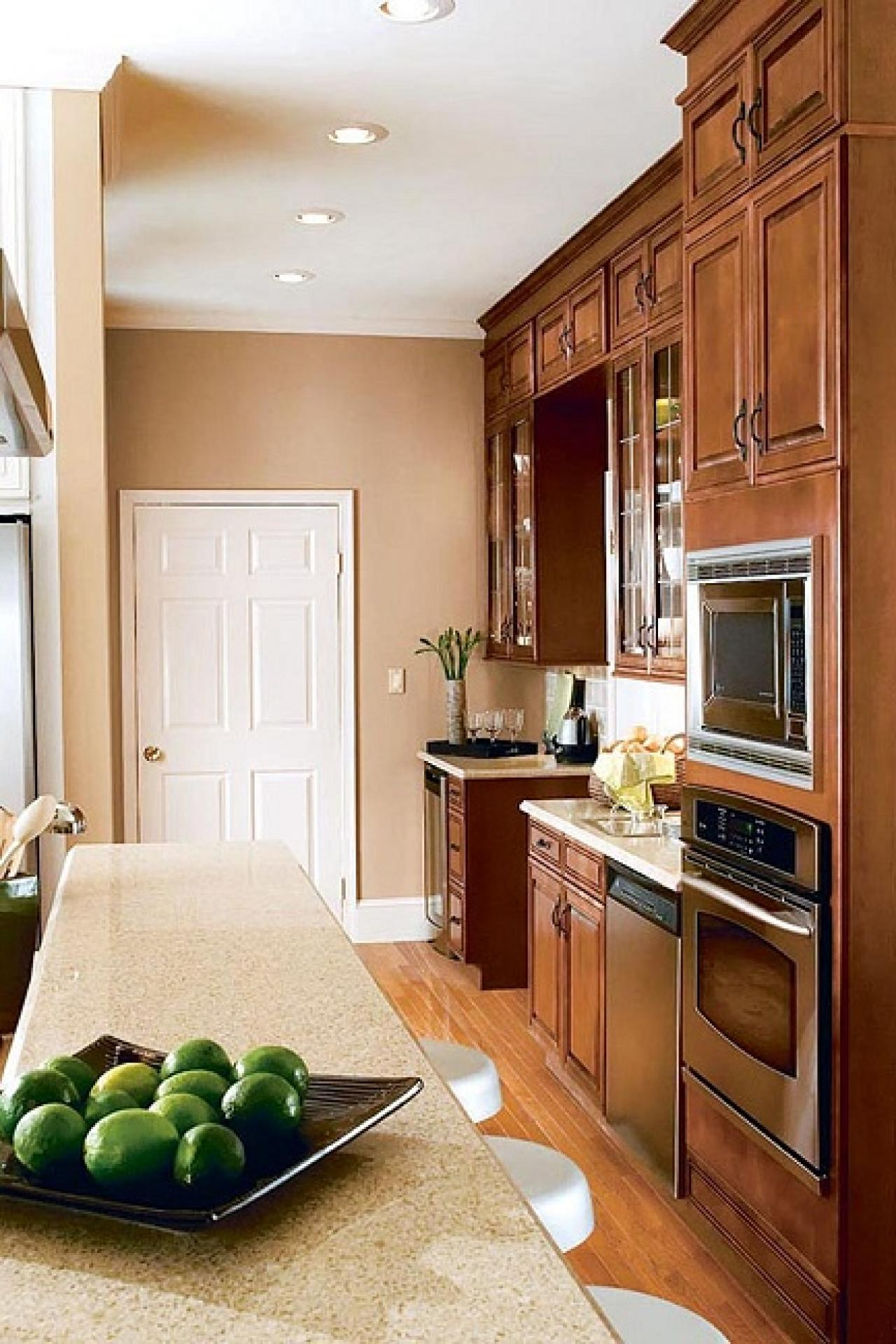 best paint color for kitchen with dark cabinets kitchen_vertical_colors_bring_out_best3 QFEMNKE