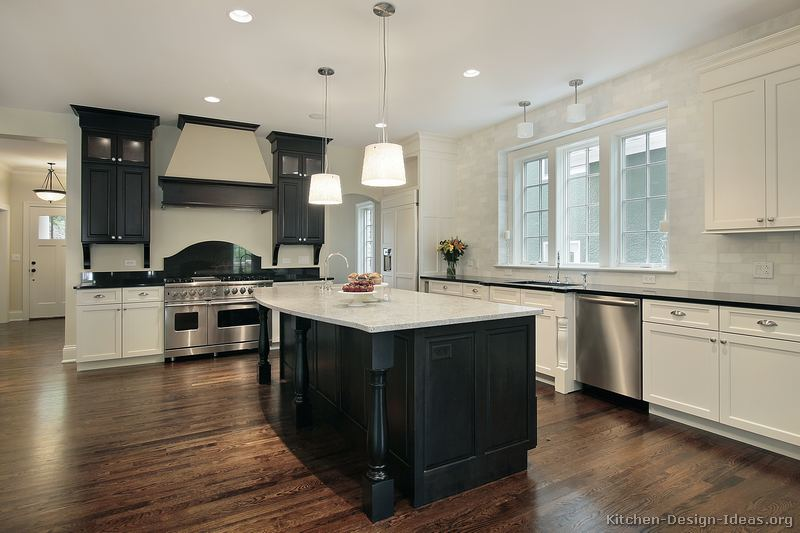 black and white kitchens with a splash of colour traditional black and white kitchen FPKRGYV