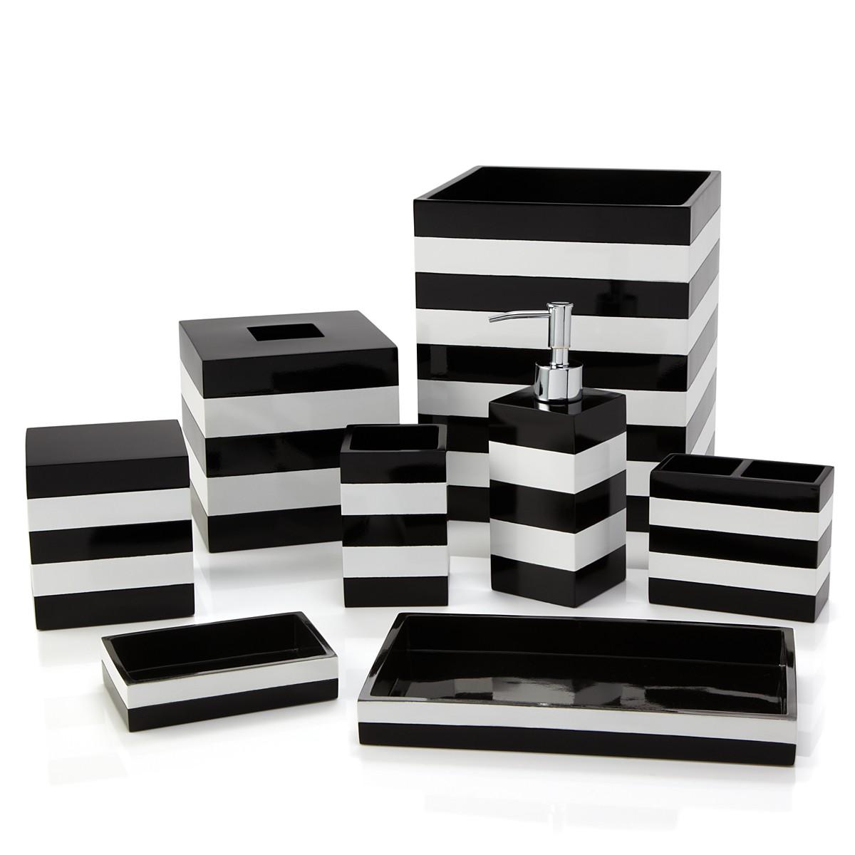 black and white striped bathroom accessories black and white bathroom accessories house decorations ZPKTXBJ