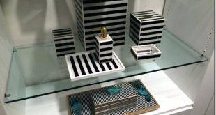black and white striped bathroom accessories black and white stripe bath MTCYMGS