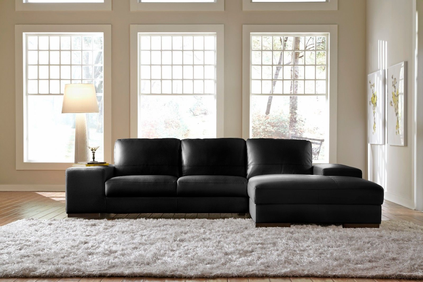 blue leather sectional sofa with chaise ... furniture brown faux leather curved sectional sofa plus round black PPQNWOK