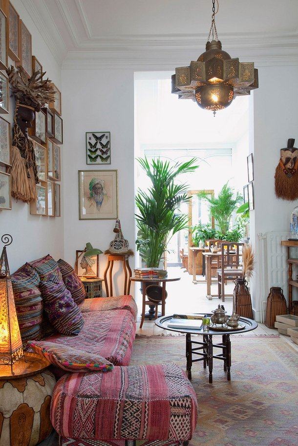 bohemian decorating ideas for living room a gallery of bohemian living rooms | apartment therapy UJHAZPX
