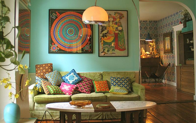 bohemian decorating ideas for living room pastel bohemian living room XPSNXRM