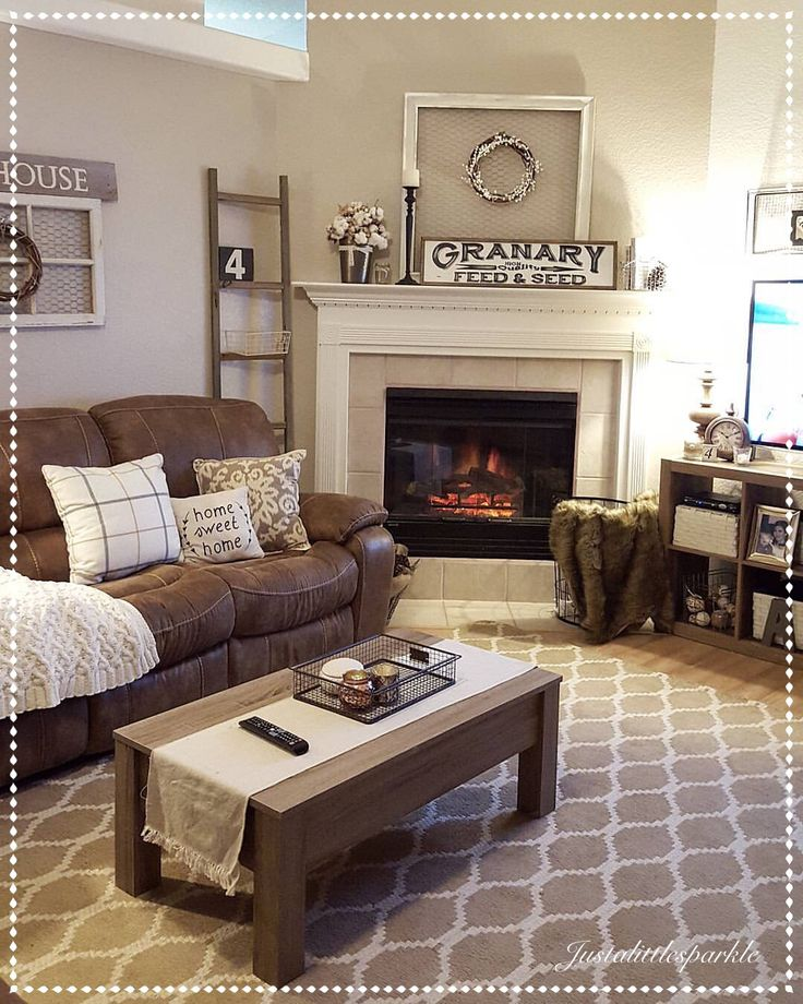 brown living room furniture decorating ideas 4 farmhouse living room maintenance mistakes new owners make | home IGRABVU