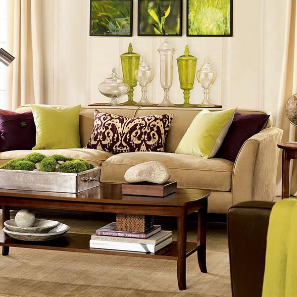 brown living room furniture decorating ideas green brown living room EKWTGGS