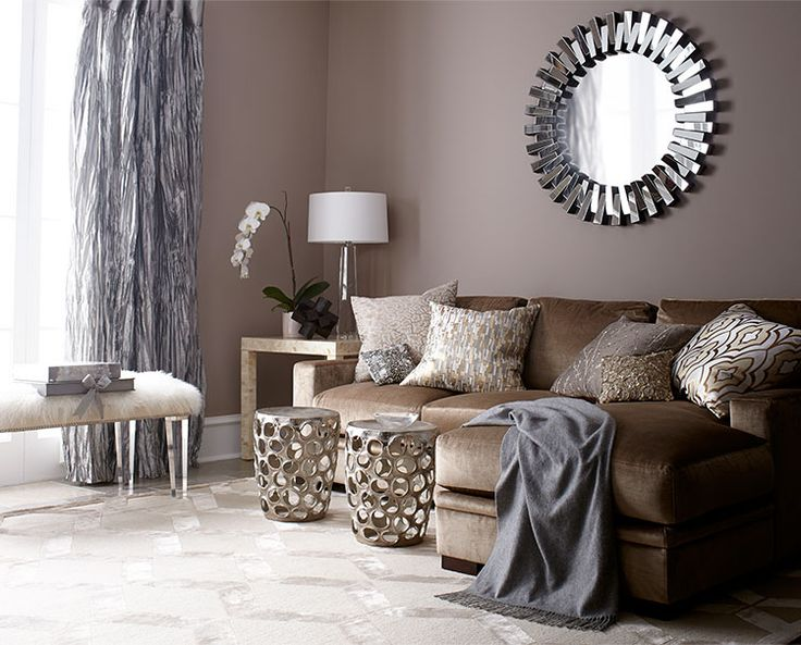 brown living room furniture decorating ideas living room ideas, living room decorating u0026 design ideas | horchow EHVQIZG