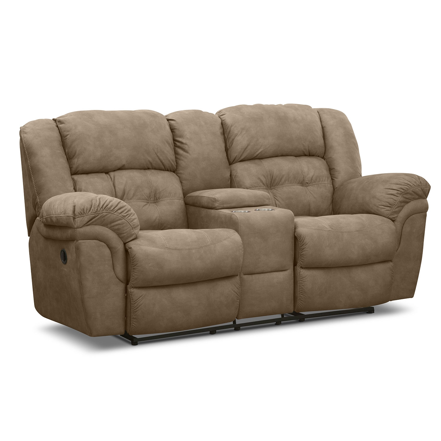 Microfiber Reclining Loveseat With Console: Minimizing Your Worries One At A Time
