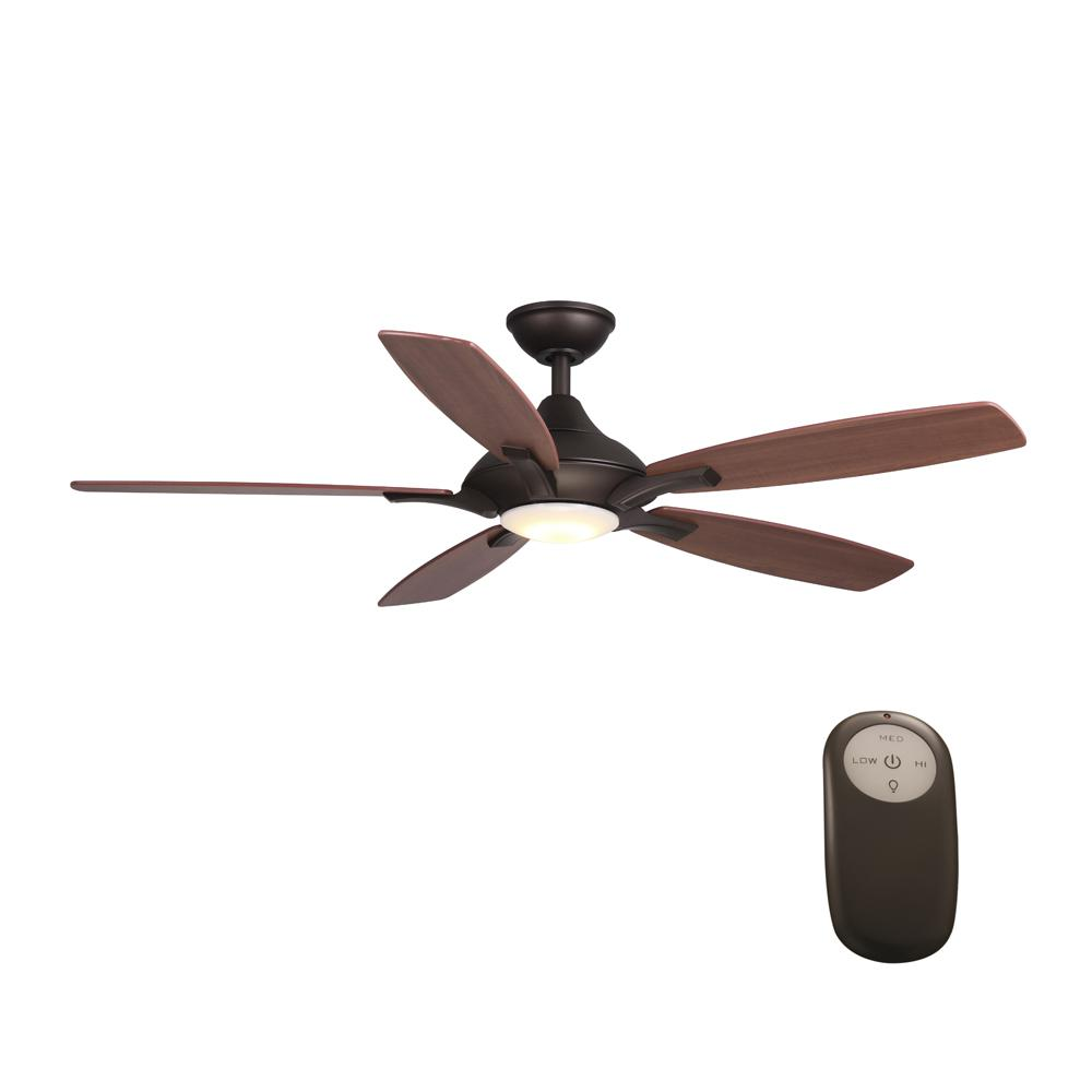 ceiling fans with led lights and remote control home decorators collection petersford 52 in. integrated led indoor white ceiling FVQAMWG
