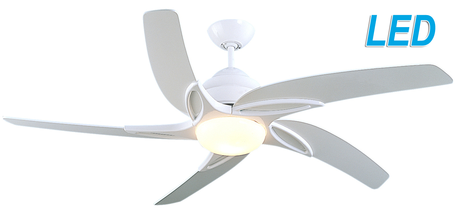 ceiling fans with led lights and remote control white ceiling fans with lights and remote control fantasia viper 54 DRJVGOE