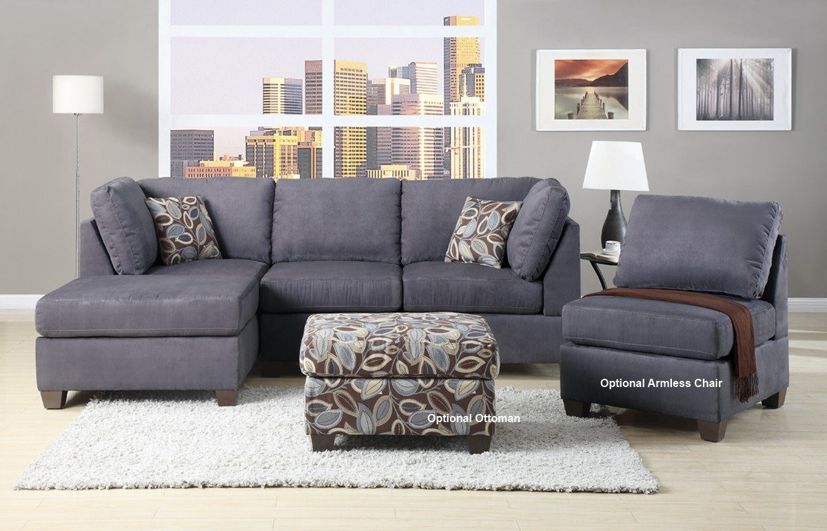 charcoal gray sectional sofa with chaise lounge complete ing guide for gray sectional sofa elites home decor charcoal KGAOXYC