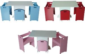 childrens table and chairs with storage funky childrens kids toddler table and chairs set w/ toy box YHNLAGU