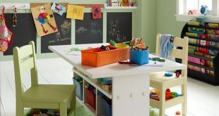 childrens table and chairs with storage kids craft tables - an ideabook by christy vaughan COXZWTZ