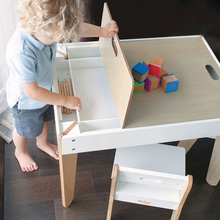 childrens table and chairs with storage kids table and chairs with storage pkolino little modern kids table RLBTQPZ