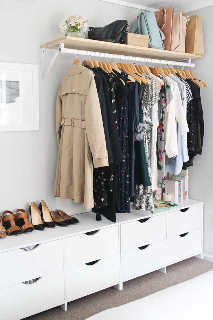 clothing storage ideas for small bedrooms - bedroom wall art ideas QAAHSML